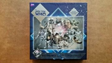 Doctor Who The Enemies 1000 Piece Jigsaw - Special Anniversary Edition